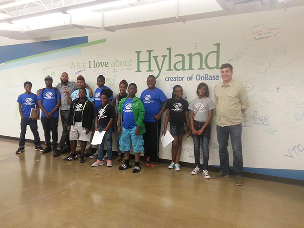 Hyland Software Field Trip