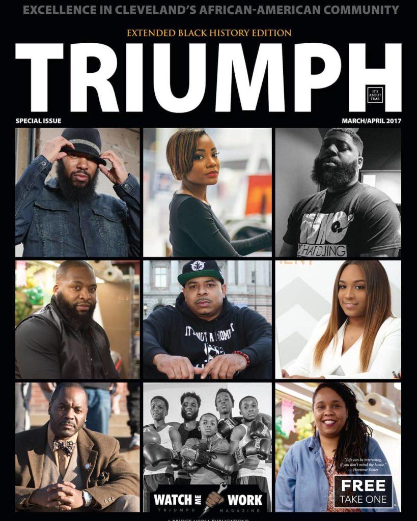 Triumph Magazine Jamal Collins